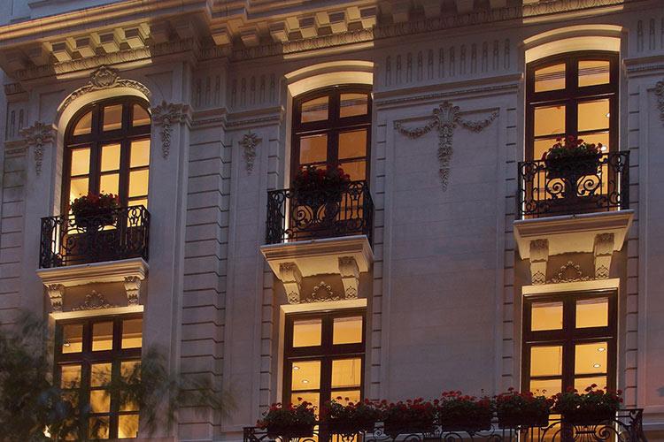 Facade - Algodón Mansion - Buenos Aires