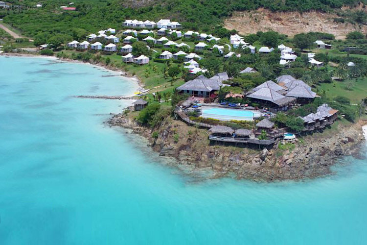Aereal-View - Cocobay Resort - Jolly Harbour
