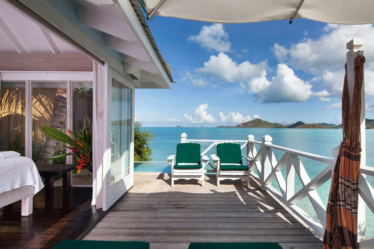 Ocean Front with Plunge Pool Deck View - Cocobay Resort - Jolly Harbour