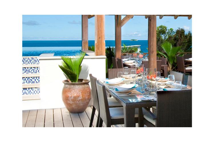 The Bay Restaurant - Nonsuch Bay - Saint Philip