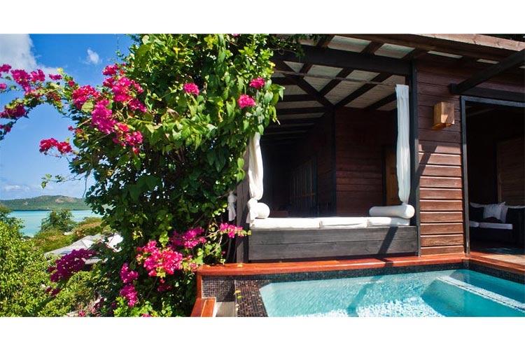 Hillside-Pool-Suite - Hermitage Bay - Saint John's