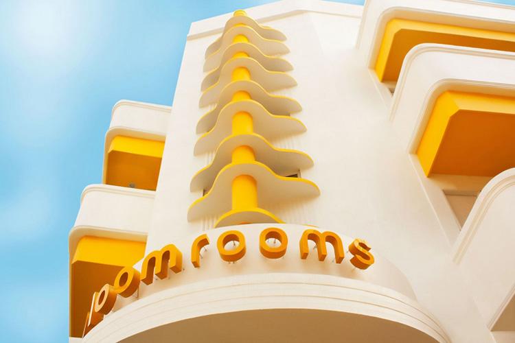 Facade - Bloomrooms Link Rd - Neu-Delhi