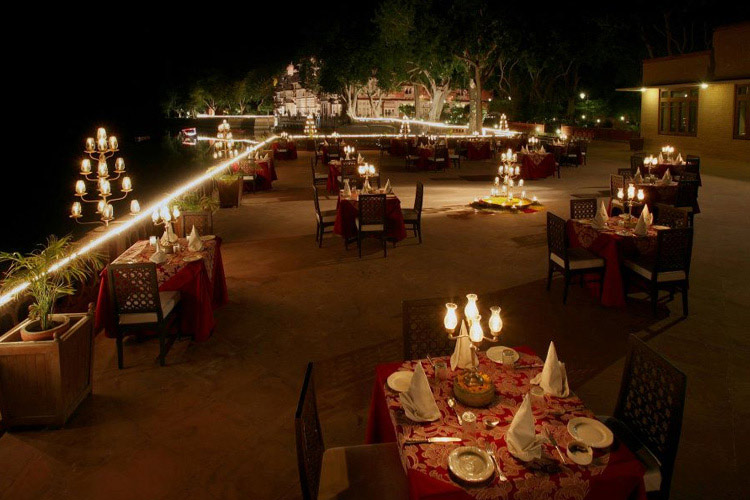 Imperial Terrace - Gajner Palace Hotel - Bikaner