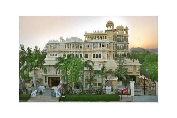 General View - Chunda Palace - Udaipur