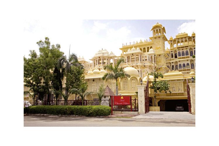 Facade - Chunda Palace - Udaipur