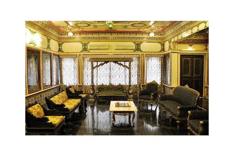 Lounge - Chunda Palace - Udaipur