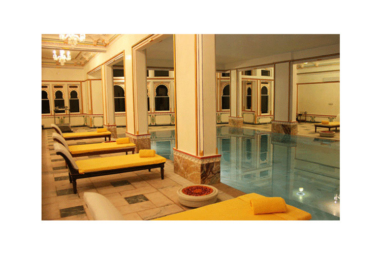 Indoor Swimming Pool - Chunda Palace - Udaipur