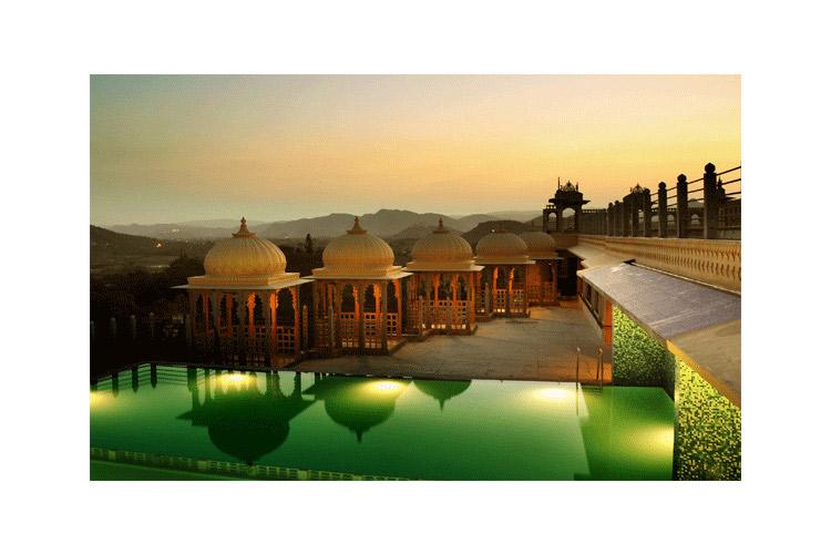 Outdoor Swimming Pool - Chunda Palace - Udaipur