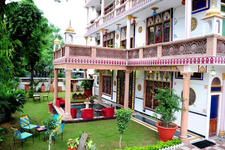 Facade - Hotel Vimal Heritage - Jaipur