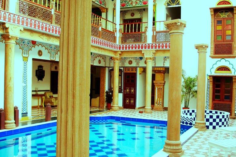 Indoor Swimming Pool - Hotel Vimal Heritage - Jaipur