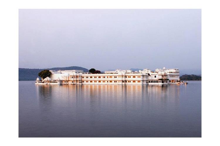 General View - Taj Lake Palace - Udaipur