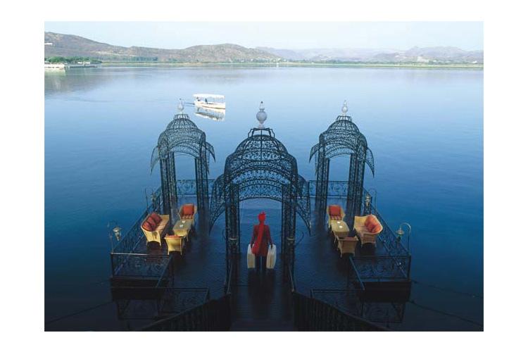 Jetty on Arrival - Taj Lake Palace - Udaipur