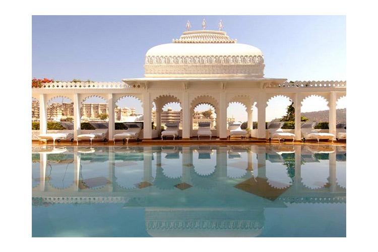 Swimming Pool - Taj Lake Palace - Udaipur