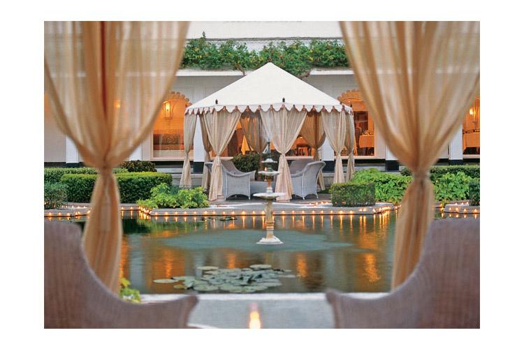 Lilypond Private Dining - Taj Lake Palace - Udaipur