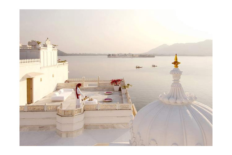 Princely Suite Private Sit-out - Taj Lake Palace - Udaipur