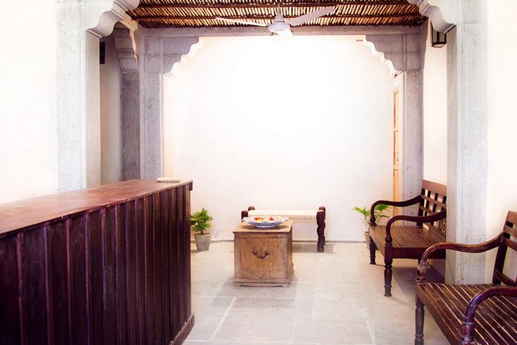 Reception - Madri Haveli - Udaipur