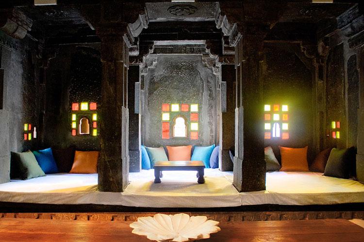 Lounge - Madri Haveli - Udaipur
