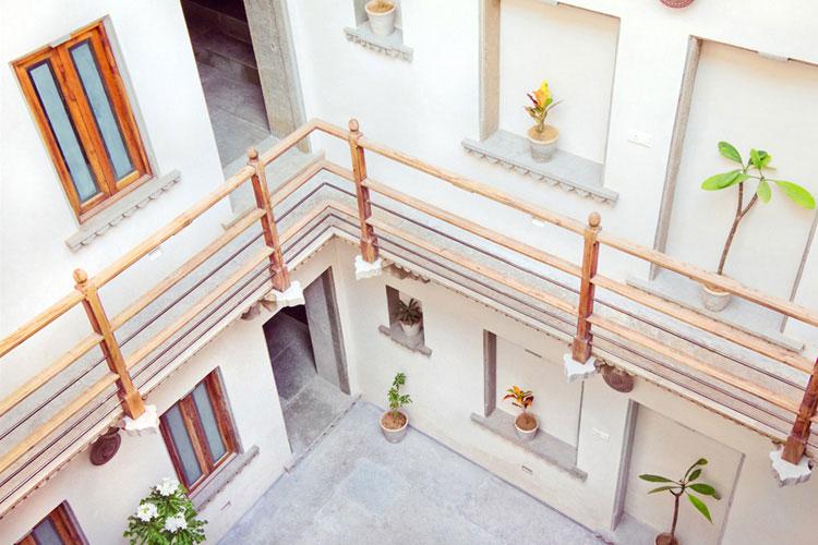 Courtyard - Madri Haveli - Udaipur