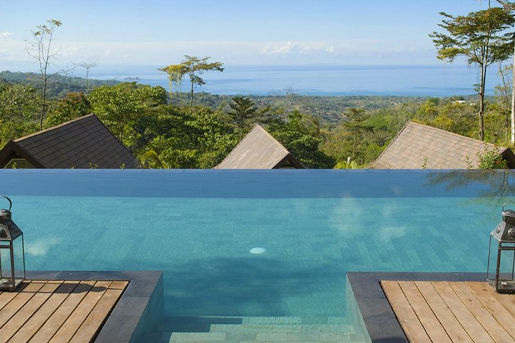 The Views from the Pool - Oxygen Jungle Villas - Uvita