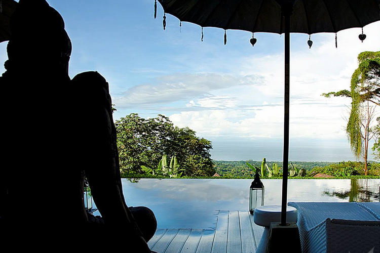 Views from the Clubhouse - Oxygen Jungle Villas - Uvita