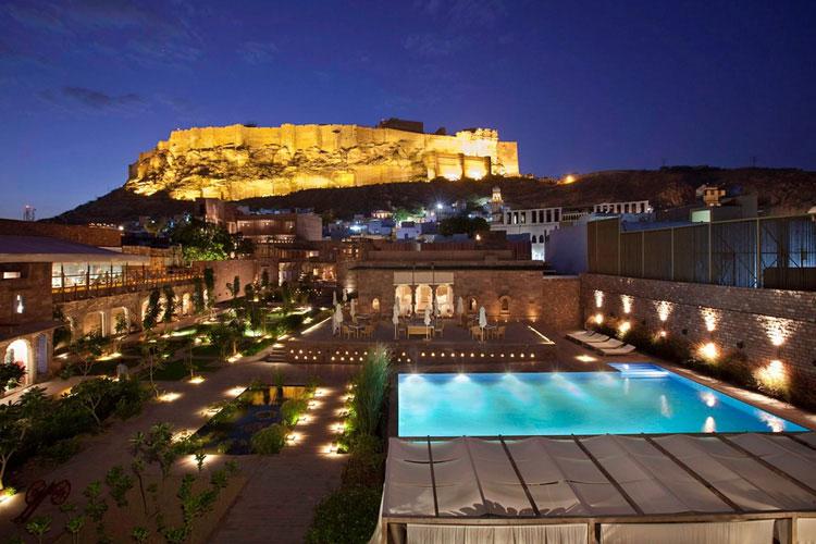 Night View - Raas Jodhpur - Jodhpur