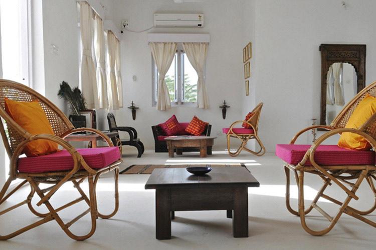 Upstairs Lounge - Savista Retreat - Jaipur