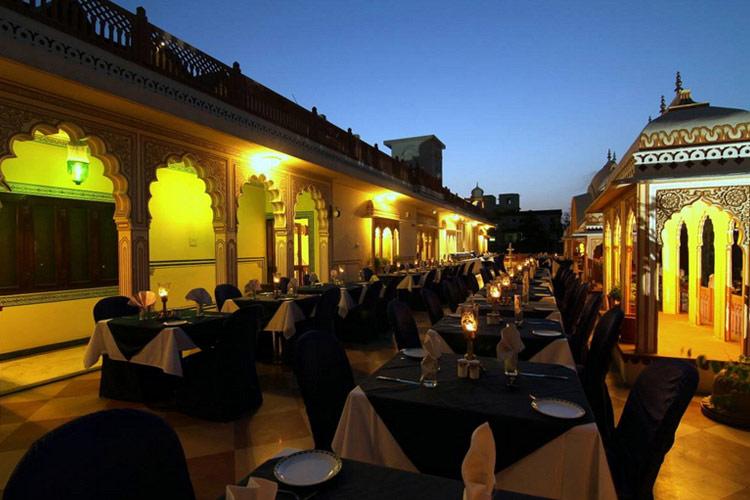 Roof Terrace - Shahpura House - Jaipur