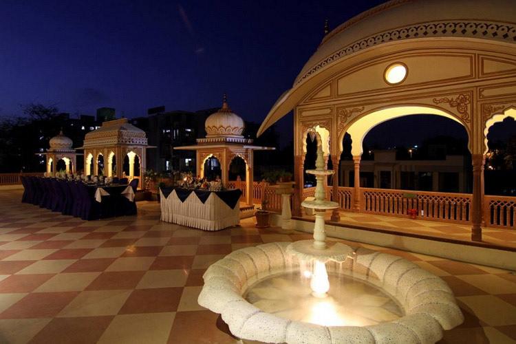 Terrace - Shahpura House - Jaipur