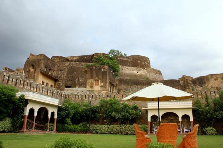 Views from Garden - Shahpura House - Jaipur