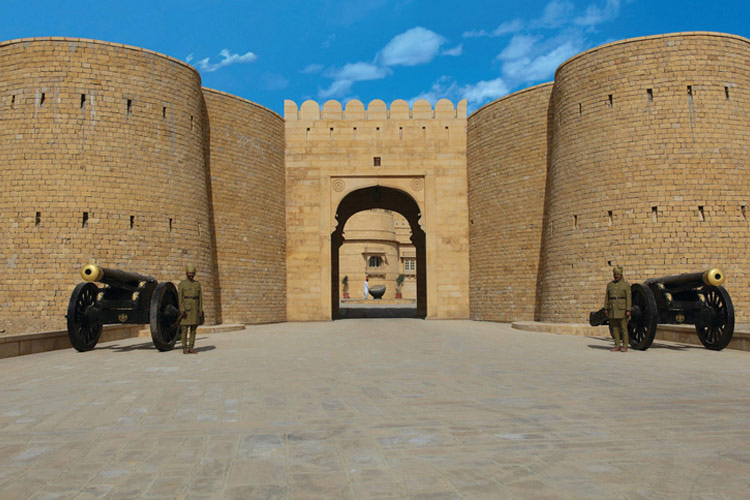 Entrance - Suryagarh - Jaisalmer