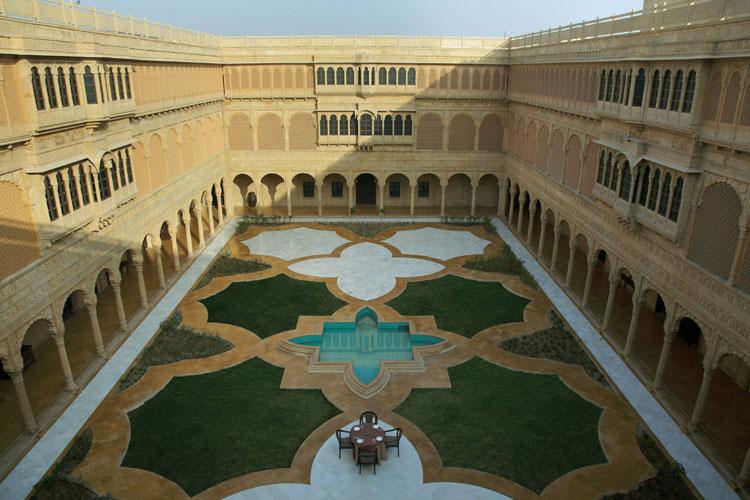 Courtyard - Suryagarh - Jaisalmer