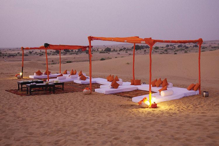 Tea at The Dunes - Suryagarh - Jaisalmer