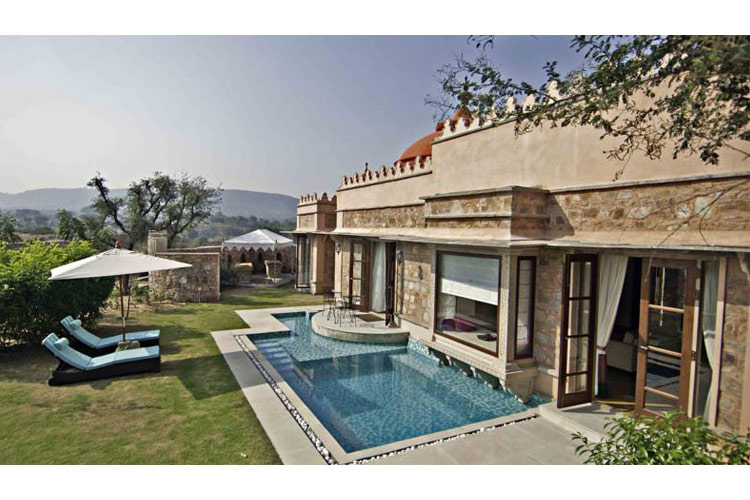 Luxury Pool and Suites - Tree of Life Resort & Spa - Jaipur