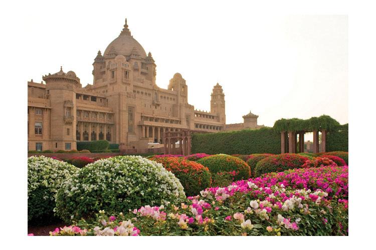 Palace Exterior - Umaid Bhawan Palace - Jodhpur