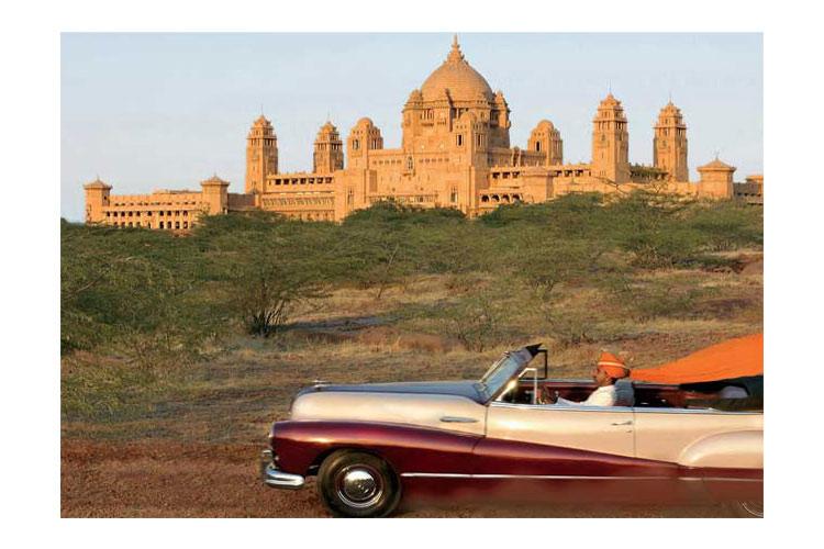 General View - Umaid Bhawan Palace - Jodhpur