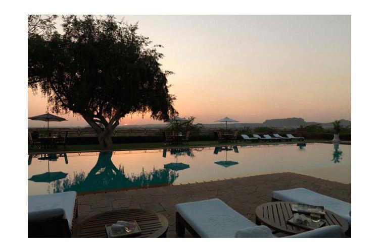 Outdoor Pool - Umaid Bhawan Palace - Jodhpur