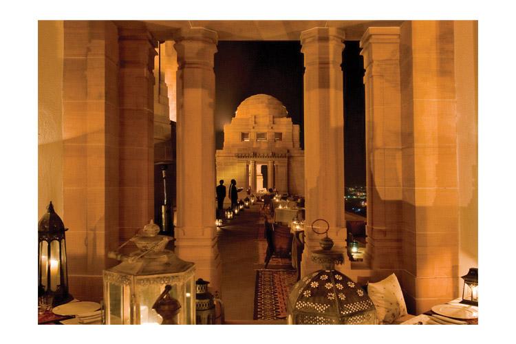 Sunset Pavilion - Umaid Bhawan Palace - Jodhpur