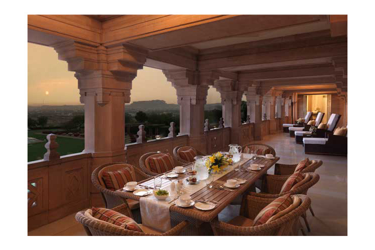 Maharani Suite Balcony - Umaid Bhawan Palace - Jodhpur