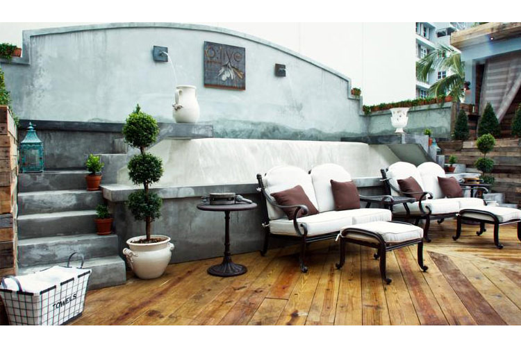 The Rooftop Club - O:live Boutique Hotel - San Juan