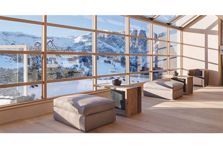 Views from the Hotel - Alpina Dolomites - Alpe di Siusi