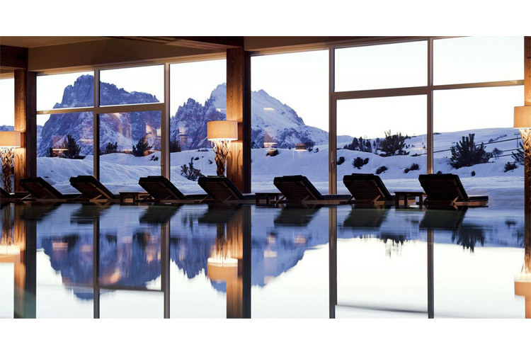 Swimming Pool - Alpina Dolomites - Alpe di Siusi