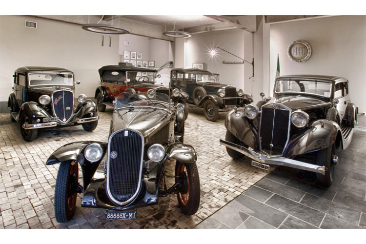 Collection of Vintage Cars - Alter Hotel - Barge
