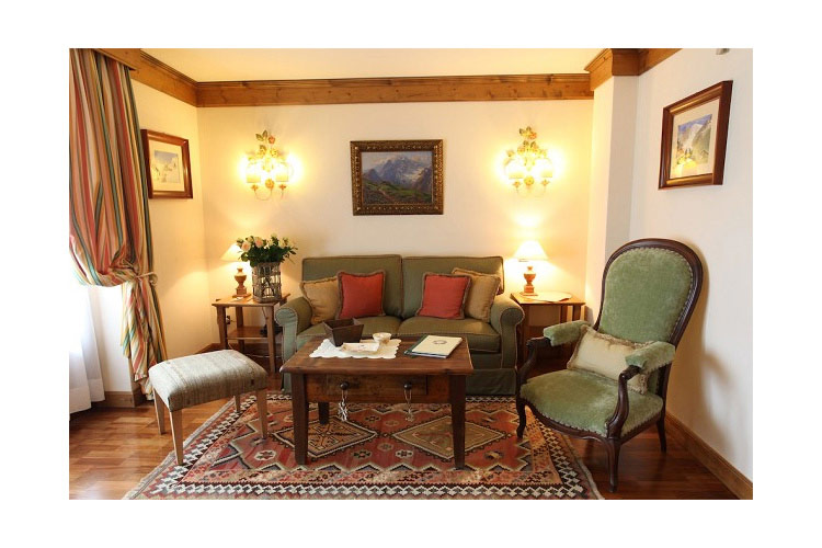 Suite Rocher - Auberge de la Maison - Courmayeu