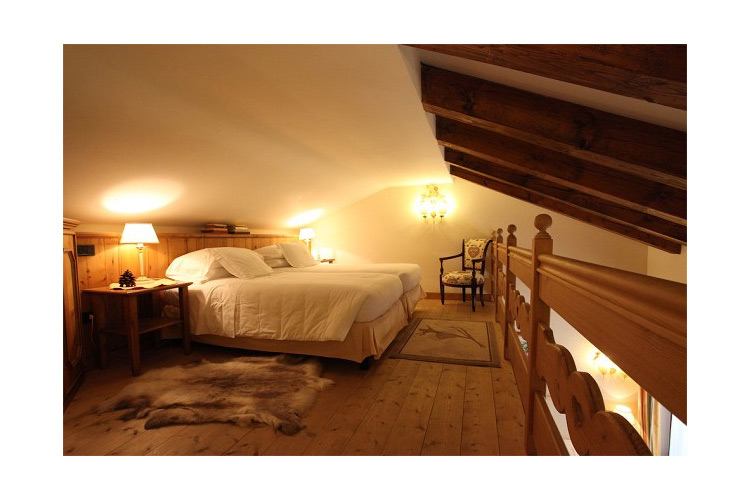 Room with Mezzanine - Auberge de la Maison - Courmayeu