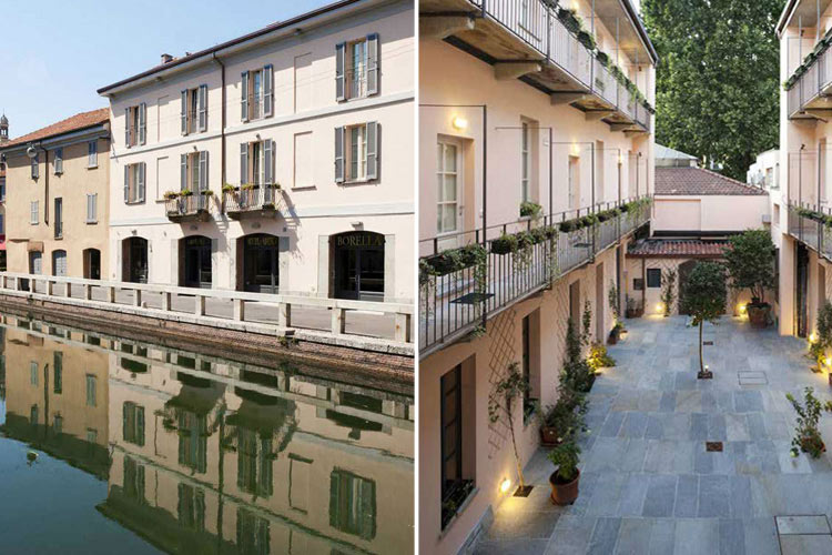 Maison borella a boutique hotel in milan for Boutique hotels milan