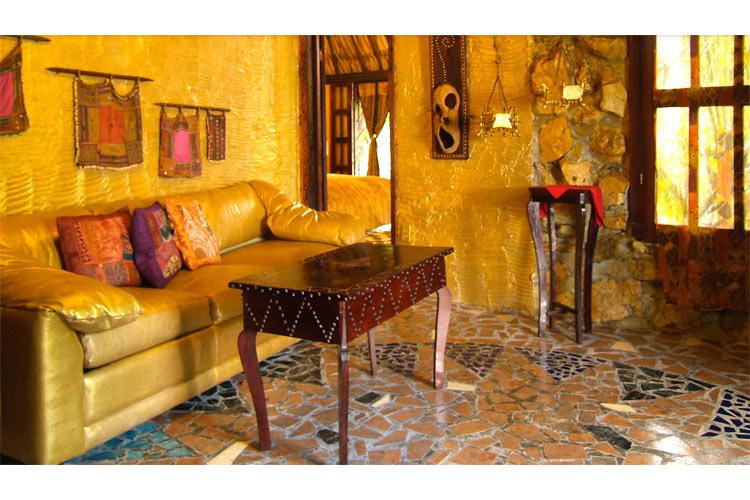 Interiors - Maruba Resort Jungle Spa - Maskall  Village