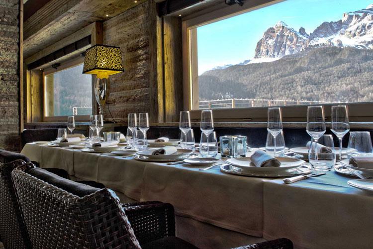 Restaurant with Views - Rosapetra Spa Resort - Cortina d'Ampezzo