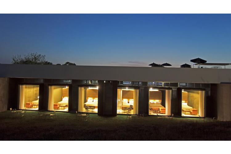 Facade at Night - Antonello Colonna Resort - Labico