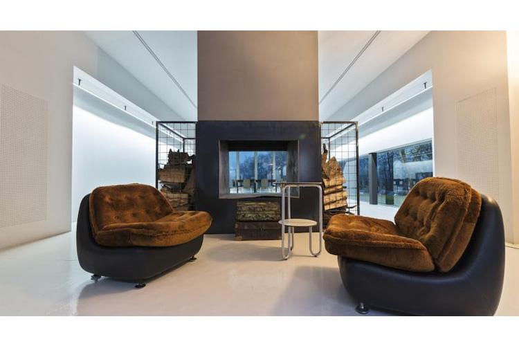 Fireplace - Antonello Colonna Resort - Labico