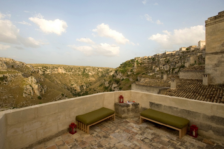 The Views from the Hotel - Basiliani Hotel - Matera